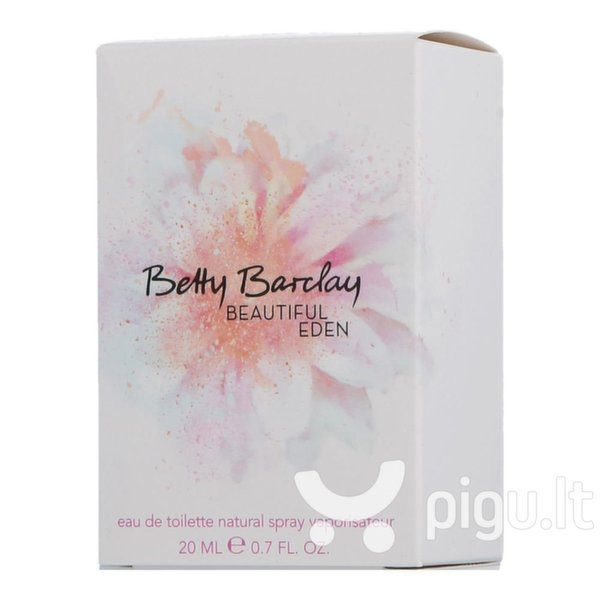 Tualetinis vanduo Betty Barclay Beautiful Eden EDT moterims 20 ml