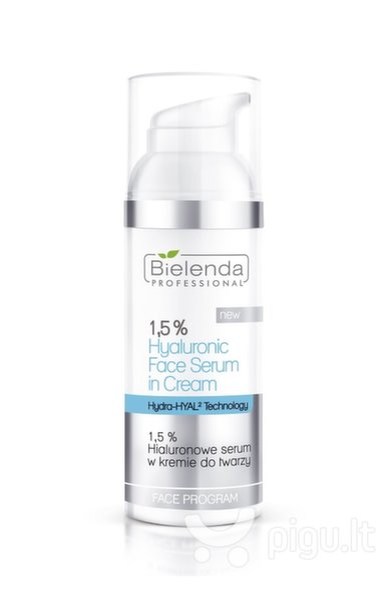 Veido serumas su hialurono rūgštimi Bielenda Professional Face Program Hyaluronic 50 g