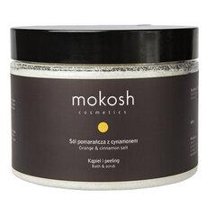 Vonios druska ir kūno šveitiklis Mokosh Cosmetics Orange & Cinnamon 600 g