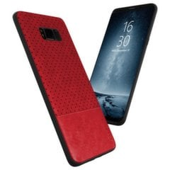 Apsauginis dėklas Qult Luxury Drop Back Case Silicone Case Samsung G965 Galaxy S9 Plus Red kaina ir informacija | Apsauginis dėklas Qult Luxury Drop Back Case Silicone Case Samsung G965 Galaxy S9 Plus Red | pigu.lt