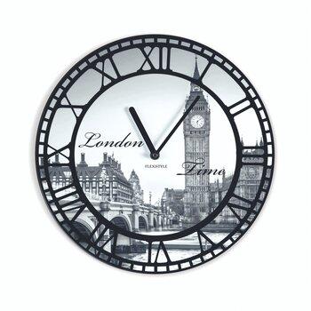 Sieninis laikrodis su spauda Londonas