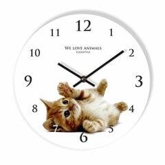 Sieninis laikrodis su spauda Kačiukas