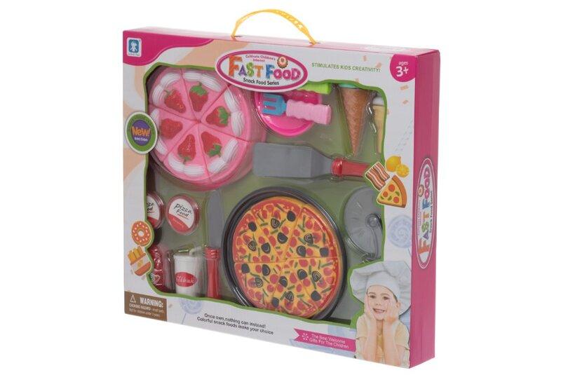 Žaislinis greito maisto rinkinys