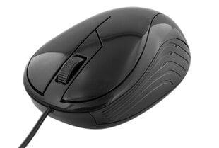 Laidinė pelė Deltaco MS-463, juoda kaina ir informacija | Pelės | pigu.lt