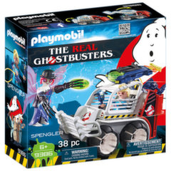 9386 PLAYMOBIL® The Real Ghostbusters Spengler ir automobilis-narvas