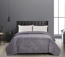 DecoKing двустороннее покрывало Hypnosis Eagle Grey White, 260x280 cm