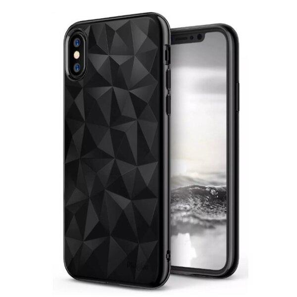 Blun 3D Prism Особо тонкий силиконовый чехол-крышка для Samsung G965F Galaxy S9 Plus Черный цена