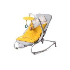 Prekė su pažeista pakuote. Gultukas KinderKraft Felio, geltonas kaina ir informacija | Prekės kūdikiams ir vaikų apranga su pažeista pakuote | pigu.lt