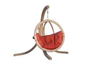 Pakabinamas supamasis fotelis Samar Plus, raudona kaina ir informacija | Lauko kėdės, foteliai, pufai | pigu.lt