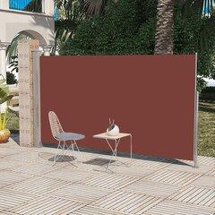 Prekė su pažeista pakuote. Ištraukiama vertikali markizė, pertvara terasai 180 x 300 cm, ruda
