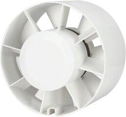 Kanalinis ventiliatorius Europlast E-EXTRA EK125, Ø125 mm kaina ir informacija | Vonios ventiliatoriai | pigu.lt