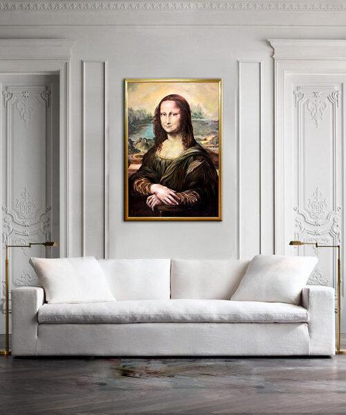 ActivArt reprodukcija Mona Lisa kaina