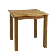 Valgomojo stalas Glouchester, rudas