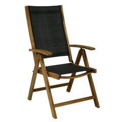 Lauko kėdė Future, juoda/ruda kaina ir informacija | Lauko kėdės, foteliai, pufai | pigu.lt