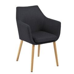 Kėdė Nora, tamsiai pilka kaina ir informacija | Virtuvės kėdės | pigu.lt
