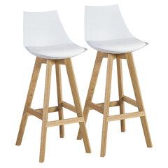 Набор из 2 барных стульев Sonja, белый