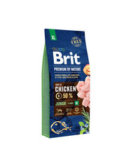 BRIT PREMIUM By Nature junior XL, 15 kg kaina ir informacija | BRIT PREMIUM By Nature junior XL, 15 kg | pigu.lt
