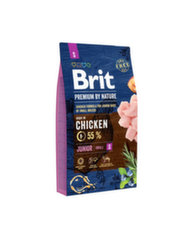 BRIT Premium By Nature Junior Small S ėdalas su vištiena, 8 kg kaina ir informacija | BRIT Premium By Nature Junior Small S ėdalas su vištiena, 8 kg | pigu.lt