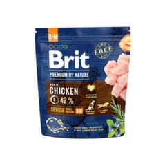 BRIT Premium By Nature Senior Small Medium S+M, 1 kg kaina ir informacija | BRIT Premium By Nature Senior Small Medium S+M, 1 kg | pigu.lt