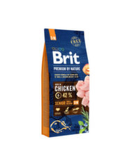 BRIT Premium By Nature Senior Small Medium S-M 15 kg kaina ir informacija | BRIT Premium By Nature Senior Small Medium S-M 15 kg | pigu.lt