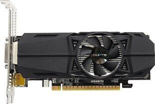 Gigabyte GeForce GTX 1050 OC Low Profile 3G, 3GB GDDR5, HDMI/DP/DVI kaina ir informacija | Vaizdo plokštės (GPU) | pigu.lt