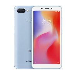 Xiaomi Redmi 6, 32GB, Dual SIM, Mėlyna