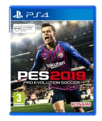 Игра PES Pro Evolution Soccer 2019, PS4