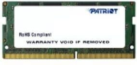 Patriot Signature SODIMM DDR4, 4GB, 2400MHz, CL17 (PSD44G240082S) kaina ir informacija | Patriot Signature SODIMM DDR4, 4GB, 2400MHz, CL17 (PSD44G240082S) | pigu.lt