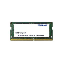 Patriot Signature SODIMM DDR4, 4GB, 2133MHz, CL15 (PSD44G213382S) kaina ir informacija | Patriot Signature SODIMM DDR4, 4GB, 2133MHz, CL15 (PSD44G213382S) | pigu.lt