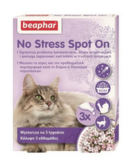 Beaphar raminantys lašiukai No Stress Spot On, 0,4 ml x 3