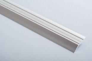 Sujungimo profilis grindų dangai H-01-D2, matinio sidabro spalva