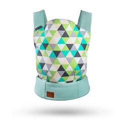 Prekė su pažeista pakuote. Nešioklė Kinderkraft Nino, mint kaina ir informacija | Prekės kūdikiams ir vaikų apranga su pažeista pakuote | pigu.lt