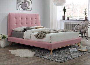 Lova Dona, 160x200 cm, rožinė kaina ir informacija | Lovos | pigu.lt