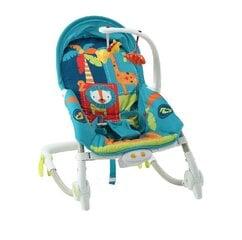 Prekė su pažeista pakuote. Gultukas-vibro kėdutė 2in1 Smiki Džiunglės kaina ir informacija | Prekės kūdikiams ir vaikų apranga su pažeista pakuote | pigu.lt
