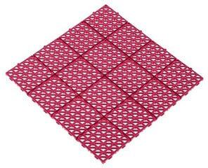 Plastikinė plytelė 33x33cm rožinė kaina ir informacija | Terasos grindys | pigu.lt