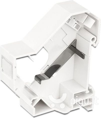 Delock Keystone Mounting for DIN rail with grounding (86232)