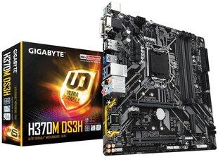 GIGABYTE H370M DS3H kaina ir informacija | GIGABYTE H370M DS3H | pigu.lt