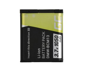 Green Cell®for Panasonic Lumix DMC-FT5 DMC-TS5 DMC-TZ40 DMC-TZ60 DMC-ZS30 DMC-ZS40 DMC-ZS50 3.7V 1050mAh