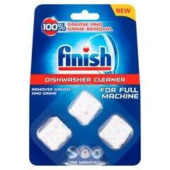 FINISH tabletės indaplovių nuosėdų valymui, 3 vnt kaina ir informacija | FINISH tabletės indaplovių nuosėdų valymui, 3 vnt | pigu.lt