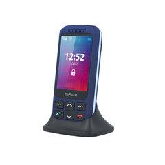 MyPhone Halo S+, Blue kaina ir informacija | Mobilieji telefonai | pigu.lt