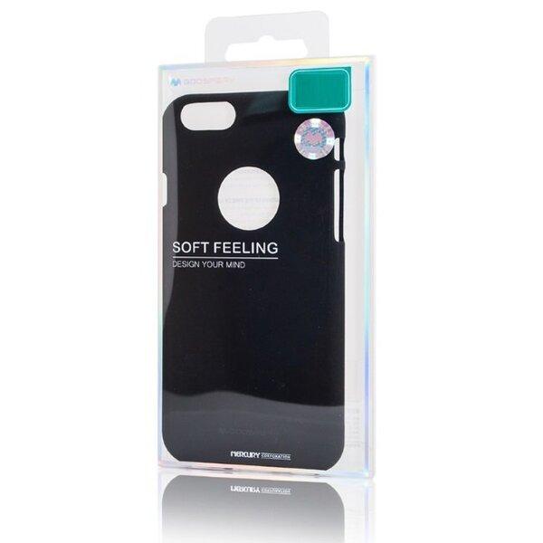 Mercury Soft feeling TPU Супер тонкий чехол-крышка с матовой поверхностью для Samsung Galaxy A6+ (2018) Черный дешевле