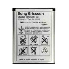 Sony BST-33 Original Battery Li-Ion 950 mAh (OEM)
