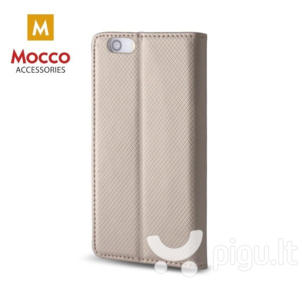 Mocco Smart Magnet Book Case For Xiaomi Redmi S2 Gold kaina