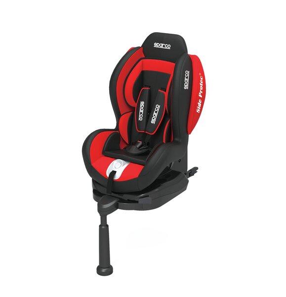 Automobilinė kėdutė Sparco F500i Iso-Fix, 9-18 kg, Red kaina