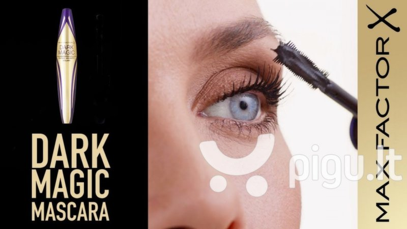 Blakstienų tušas Max Factor Dark Magic Black 10 ml internetu