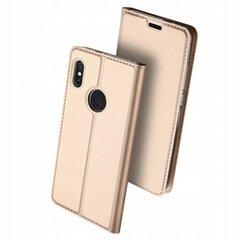 Telefono dėklas Dux Ducis SkinPro skirta Xiaomi Redmi Note 5 Pro, Dual camera, auksinis kaina ir informacija | Telefono dėklai | pigu.lt