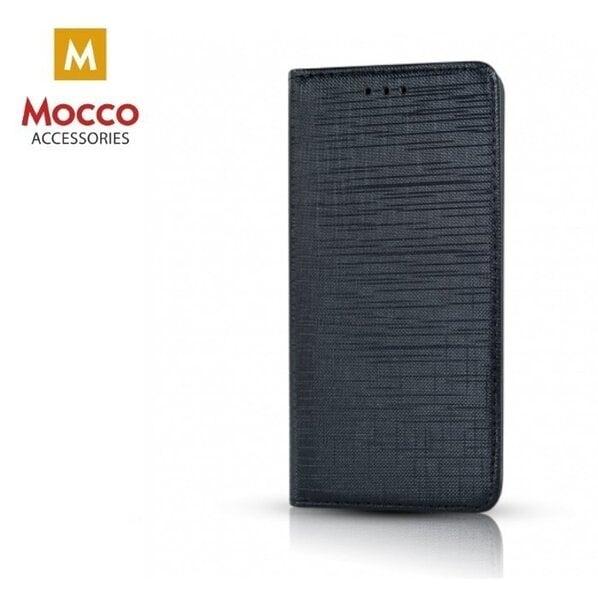 Atverčiamas dėklas Mocco Jeans telefonui Samsung J4 (2018), juodas