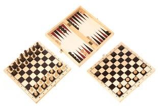 Набор настольных игр: шахматы, шашки + нарды
