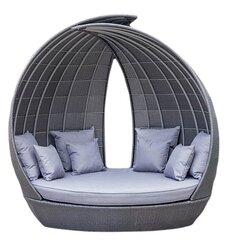 Lauko sofa Wing, pilka