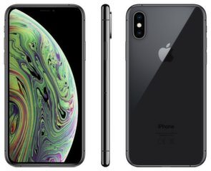 Apple iPhone Xs, 256 GB, Pilka